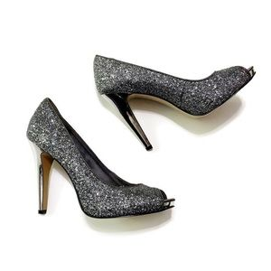 Nine West Escher Glitter Pumps